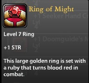 Ring of Might