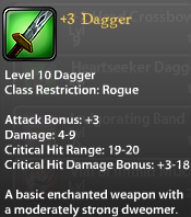 3 Dagger
