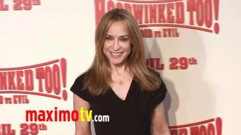 "AMANDA WYSS at ""Hoodwinked Too! Hood VS Evil"" Premiere"