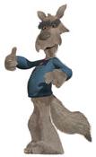 Hoodwinked wolf w. wolf