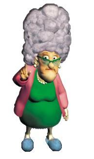 Granny puckett hoodwinked 2005