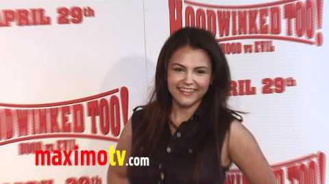 "TAYLOR ASHLYNN BECKETT at ""Hoodwinked Too! Hood VS Evil"" Premiere"