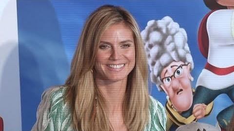 "HEIDI KLUM at ""Hoodwinked Too! Hood VS Evil"" Premiere"