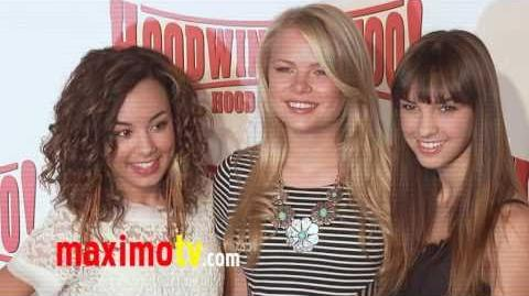 SAVANNAH JAYDE, KELLI GOSS & DENYSE TONTZ at Hoodwinked Too! Premiere