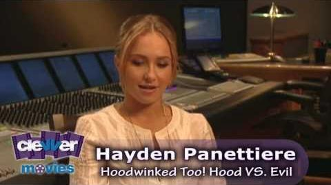 Hayden Panettiere - Hoodwinked Too! Hood vs. Evil Interview (HD 720p)