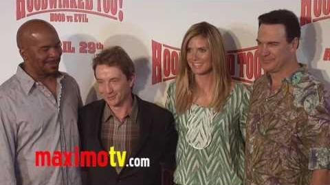 """Hoodwinked Too! Hood VS Evil"" Premiere Arrivals Heidi Klum"