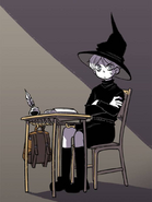 Damien in Witch School
