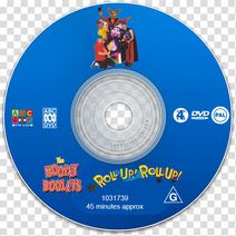 RollUp!RollUp!DVDDisc