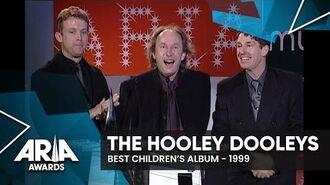 The Hooley Dooleys win Best Children's Album 1999 ARIA Awards-1