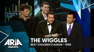 The Wiggles win Best Children's Record 1998 ARIA Awards-1