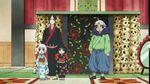 Hozuki no reitetsu Zashiki warashi laughing