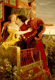 Romeo and juliet by Ford Madox Brown