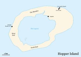 Map of Hopper Island (basic)