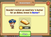 Invest Butter 1