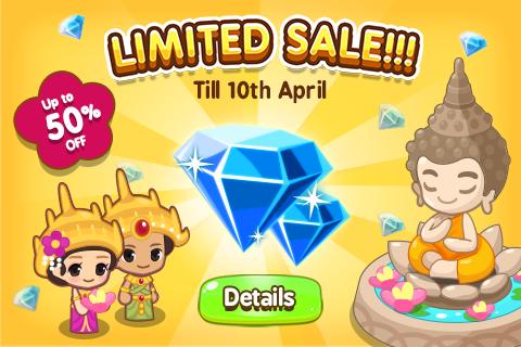 Songkran Sales