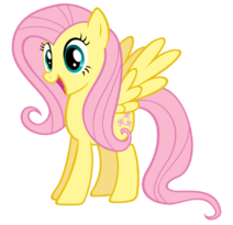 Excited fluttershy by stabzor-d4k5q6z
