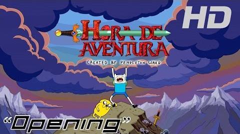 Hora de Aventura Opening Ver