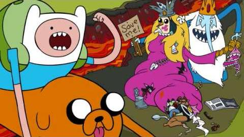 Adventure Time Hey Ice King Why'd You Steal Our Garbage Main Theme