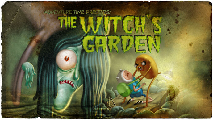 The Witch's Garden (Title Card)