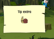 Tip extra