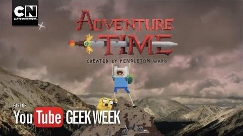Adventure Time LEGO Main Title Geek Week Cartoon Network