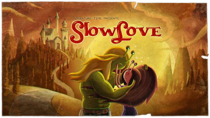 Slow Love (Title Card)