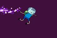Finn saltarin - espacio