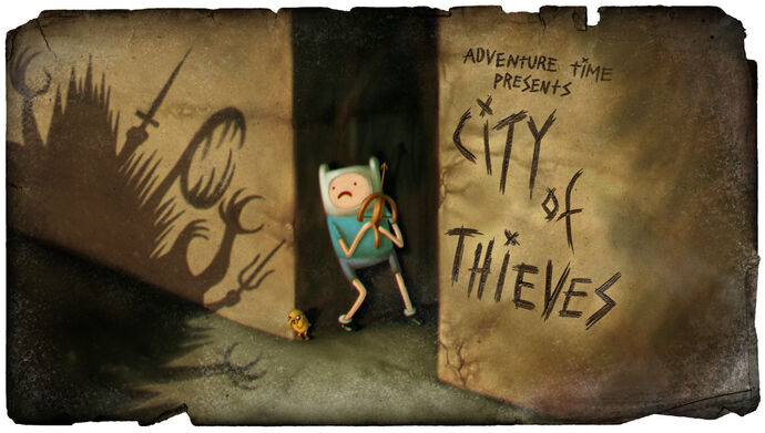 City of Thieves (Title Card)