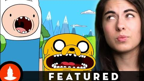 """Adventure Time Conspiracies New Show """"Cartoon Conspiracy"""" on Channel Frederator"""