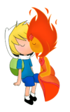 Finn x flame princess by cris uchiha-d54h968