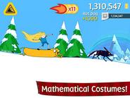 Ski Safari - Mathematical costumes