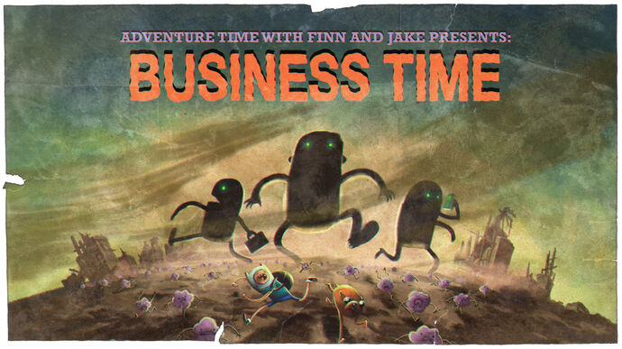 Business Time (Title Card)