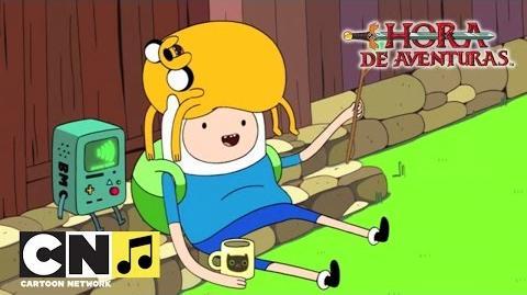 El monstruo - Canción 'Guay Guay Guay' Hora de Aventuras Cartoon Network