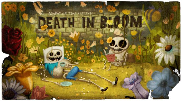 Death in Bloom (Title Card)