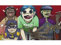 Gorillaz-cartoons