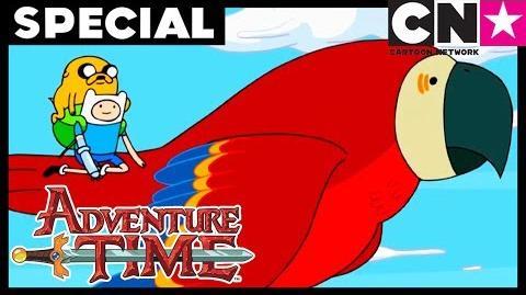 Hora de Aventura LA Islas, Parte 1 La invitación Cartoon Network