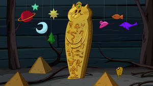 S5e20 Wall cat sarcophagus