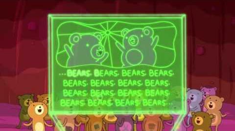 Hora de aventuras, paco fiestas osos
