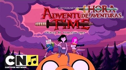 Cabecera de La Historia de Marceline - Hora de Aventuras - Cartoon Network