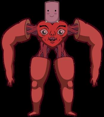 Cuerpo falso