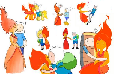 FLAME AND FINN MIX