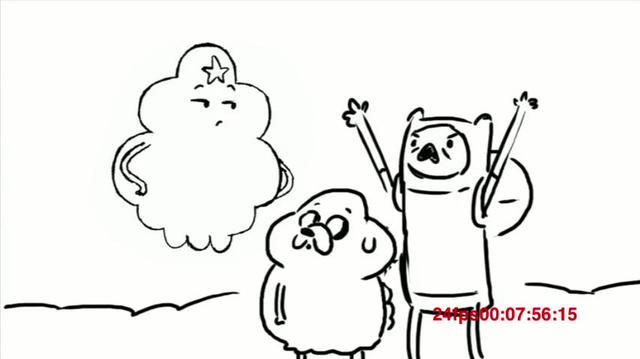 """Trouble in Lumpy Space"" Animatic"