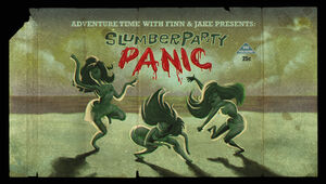 Slumber Party Panic (Title Card)