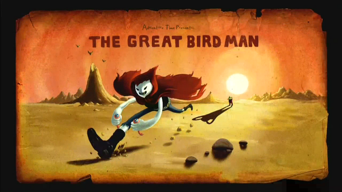The Great Bird Man (Title Card)