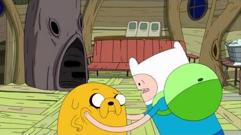 Adventure Time - Hot To The Touch (preview)