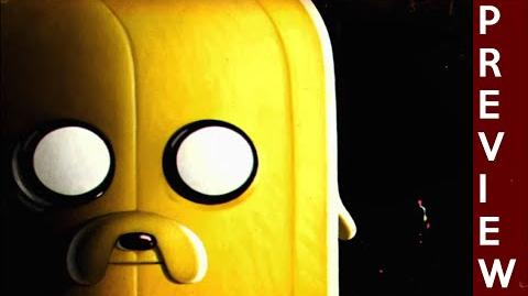 Adventure Time - The Thin Yellow Line Preview