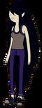 MarcelineHambreRojaSuit