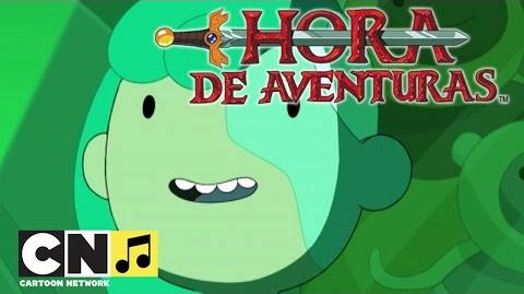 Hora de Aventuras La canción de Los Buscadores (Especial Islas, parte 5) Cartoon Network