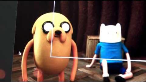 Adventure Time - Stop Motion Animation (Behind the Scenes)
