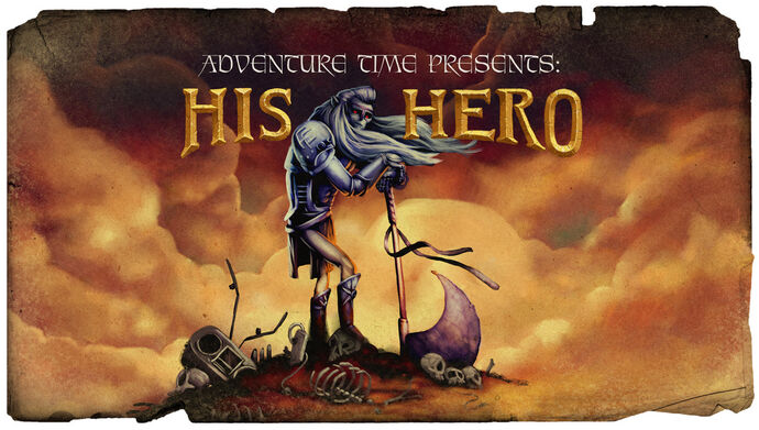 His Hero (Title Card)